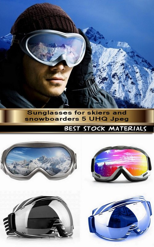 Sunglasses for skiers and snowboarders 5 UHQ Jpeg