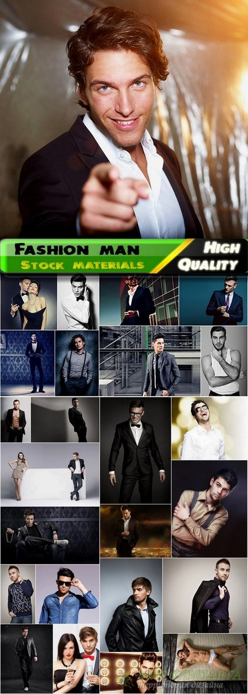 Glamour and fashion man Stock images - 25 HQ Jpg