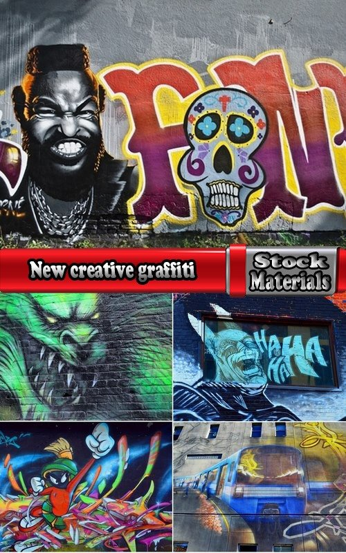 New creative graffiti 5 UHQ Jpeg