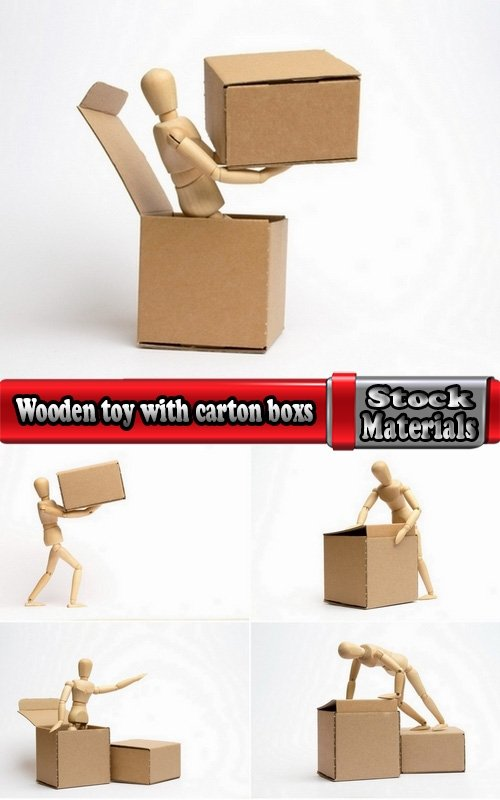 Wooden toy with carton boxs 5 UHQ Jpeg