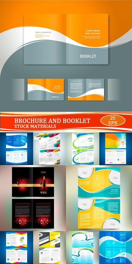 Векторные шаблоны - Брошюры и буклеты 2
