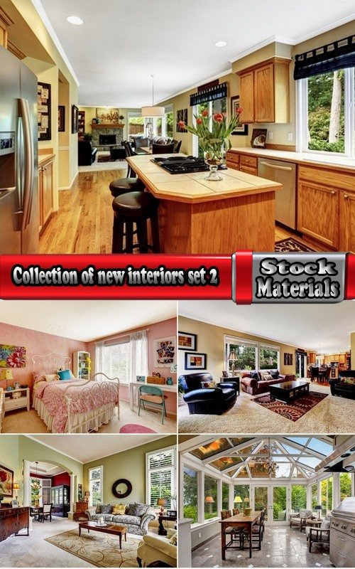 Collection of new interiors #2-5 UHQ Jpeg