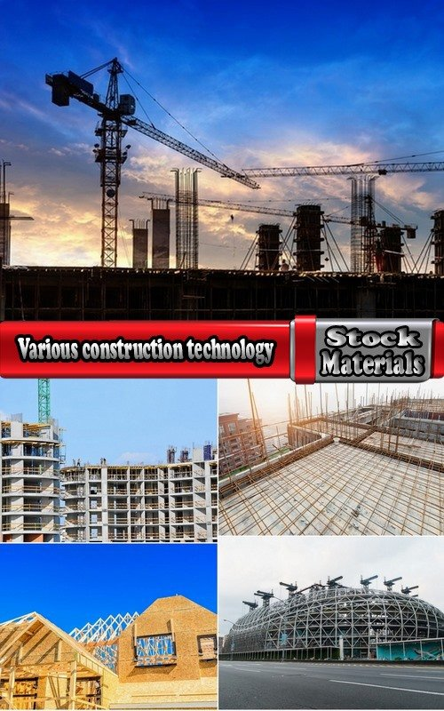 Various construction technology 5 UHQ Jpeg