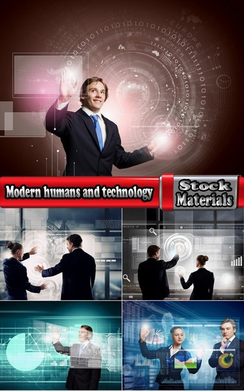 Modern humans and technology 5 UHQ Jpeg