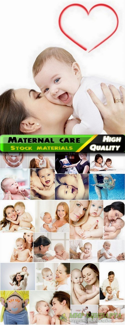 Maternal care and mother with baby Stock images - 25 HQ Jpg
