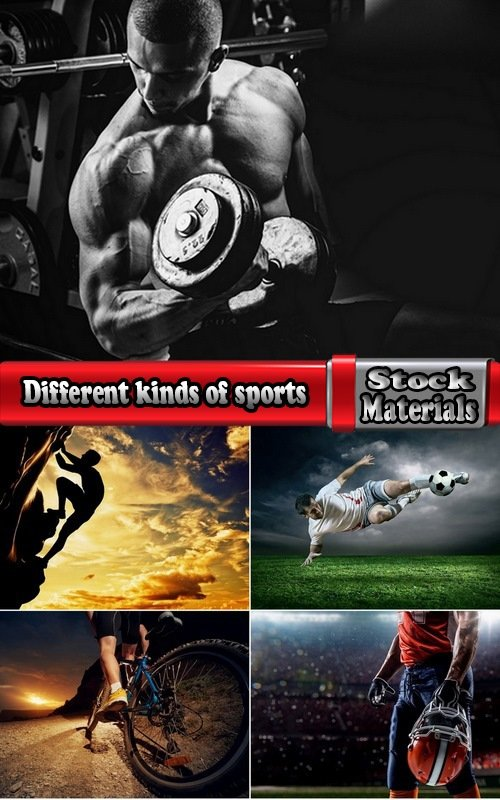 Different kinds of sports 5 UHQ Jpeg
