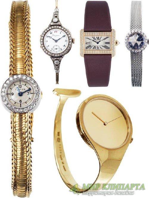 Женские часы (подборка клипарта)