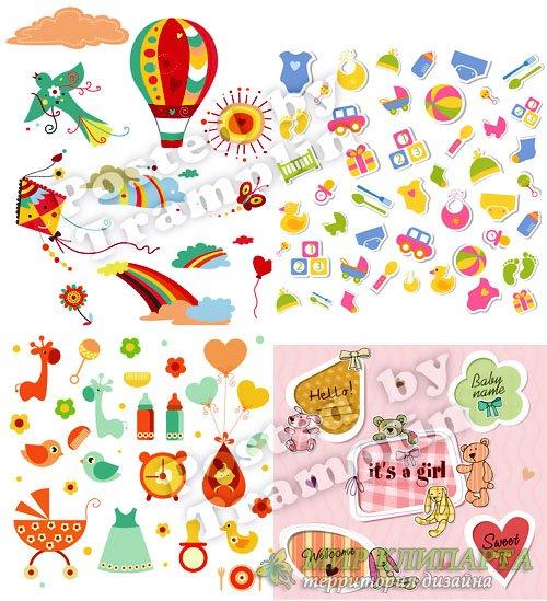 Детские элементы в векторе - Children elements in a vector