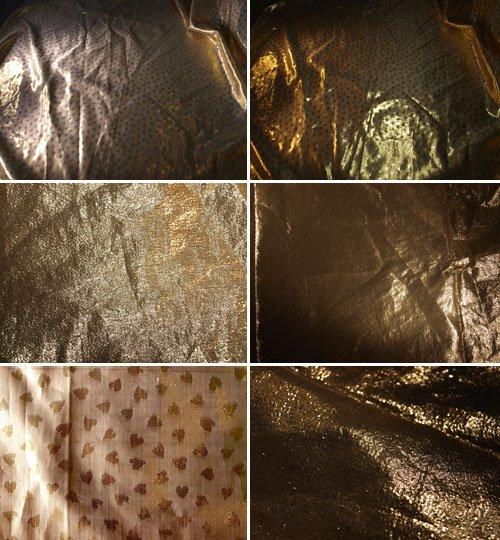 Золотые текстуры в темных тонах