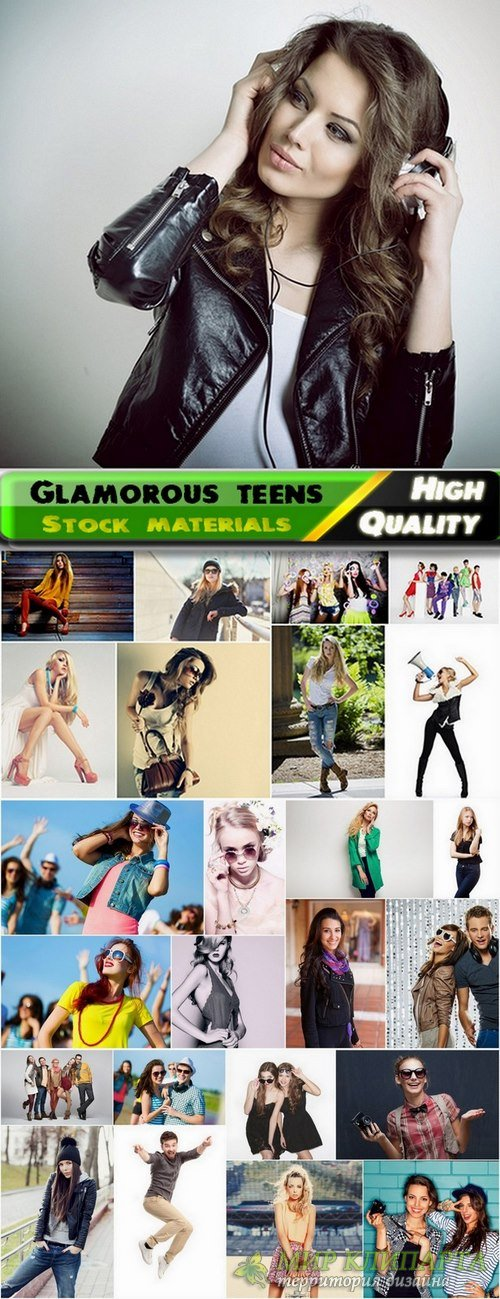 Glamorous teens Stock images - 25 HQ Jpg