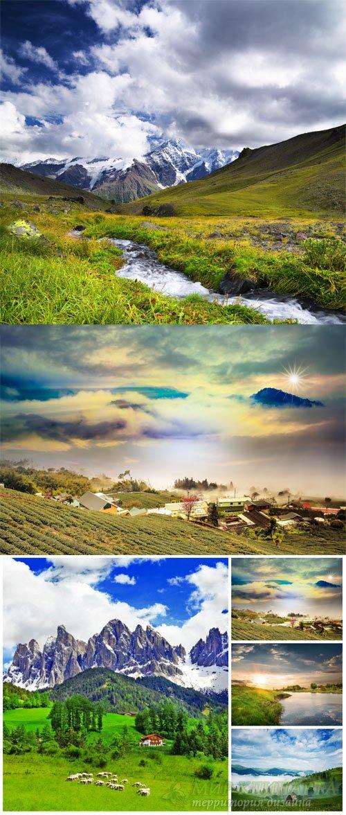 Природа, пейзажи / Nature, Landscapes - stock photos