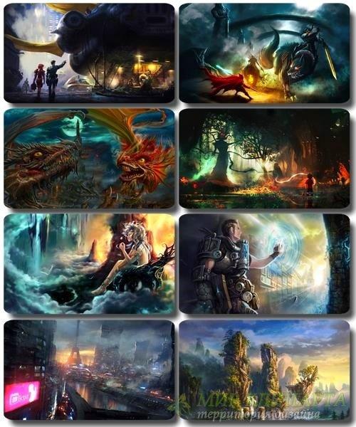 Фантастические обои - HQ картинки Art Photoshop часть 37