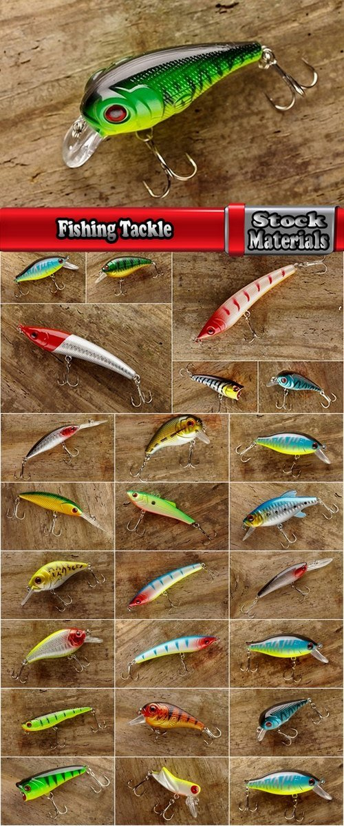 Fishing Tackle 25 UHQ Jpeg