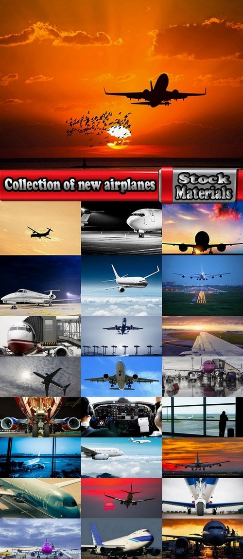 Collection of new airplanes 25 UHQ Jpeg
