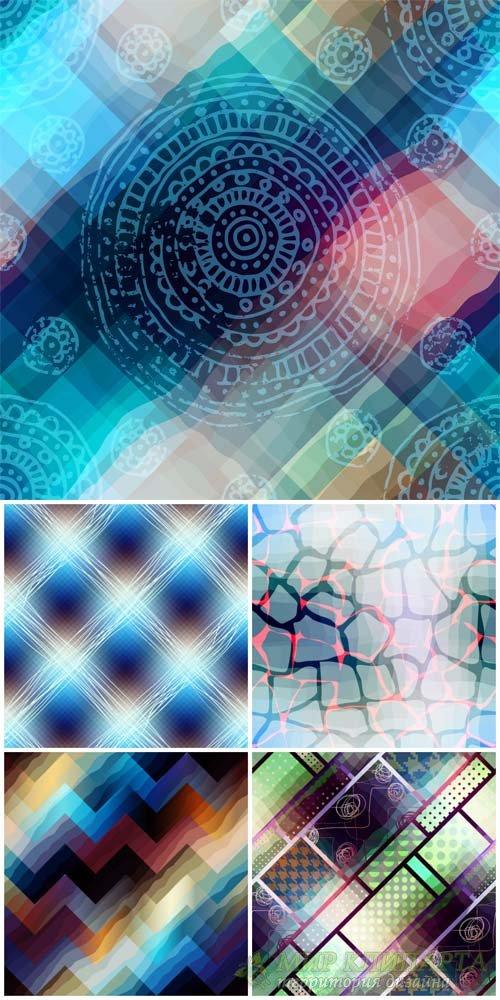 Векторные фоны, абстракция / Vector backgrounds, abstraction #8