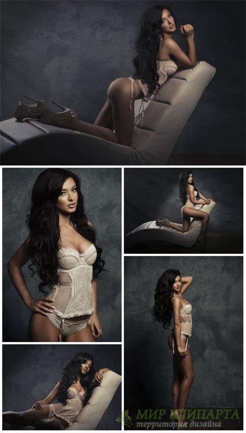 Девушка в нижнем белье / Girl in lingerie # 1