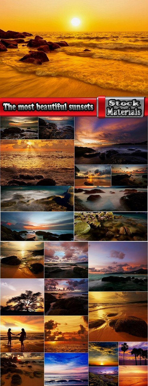 The most beautiful sunsets in the world 25 UHQ Jpeg