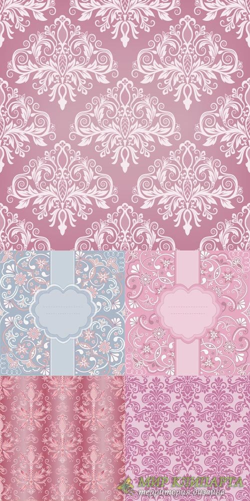 Delicate lace backgrounds