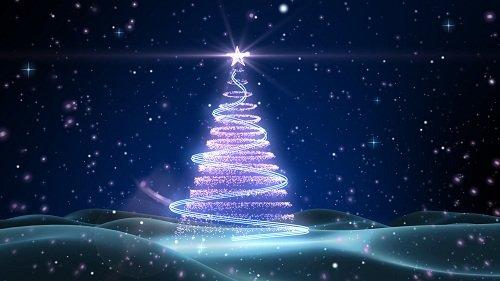 Праздничный футаж - Рождественская Елка