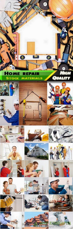 Builders and home repair Stock images - 25 HQ Jpg