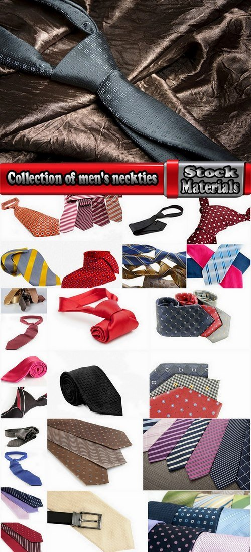 Collection of men's neckties 25 UHQ Jpeg