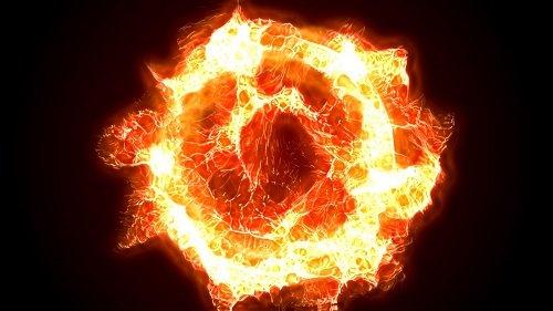 Огненное пламя футаж - Final Flame video footage