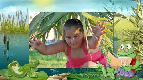 Детский проект для ProShow Producer - Две лягушки