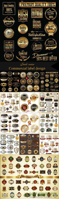 Commercial label design
