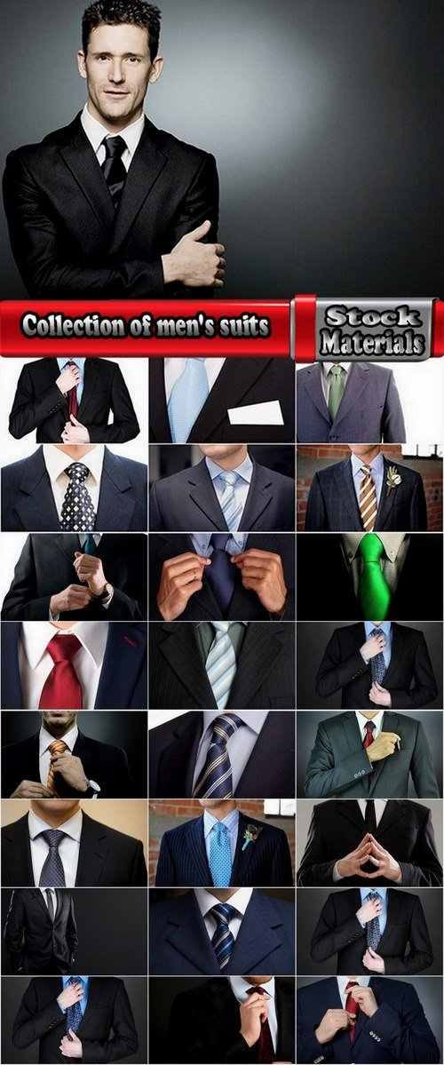 Collection of men's suits 25 UHQ Jpeg