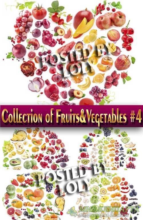 Еда. Мега коллекция. Овощи и Фрукты #4 - Растровый клипарт