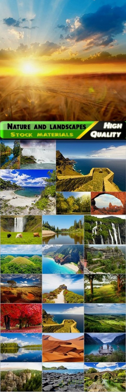 Beautiful nature and landscapes Stock Images - 22 HQ Jpg