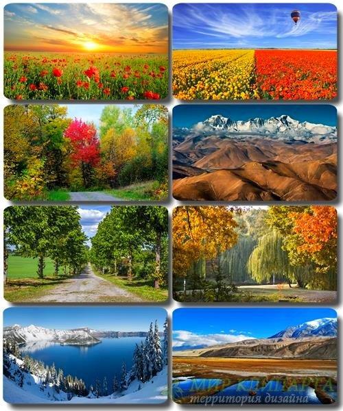 Живописные пейзажи - Обои с фото природы (альбом 31)