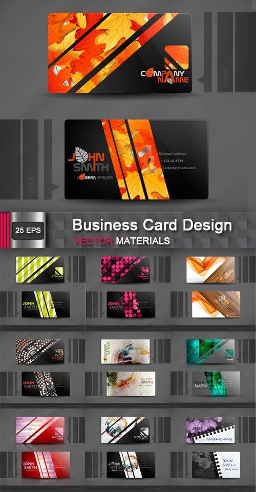 Корпоративные шаблоны визиток 2