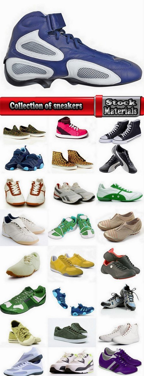 Collection of sneakers 25 UHQ Jpeg