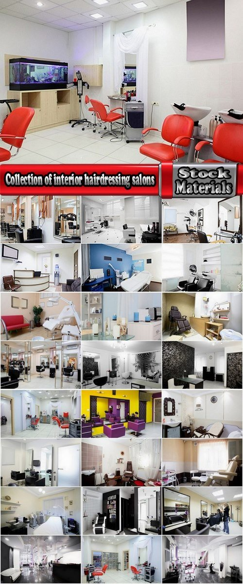 Collection of interior hairdressing salons 25 UHQ Jpeg