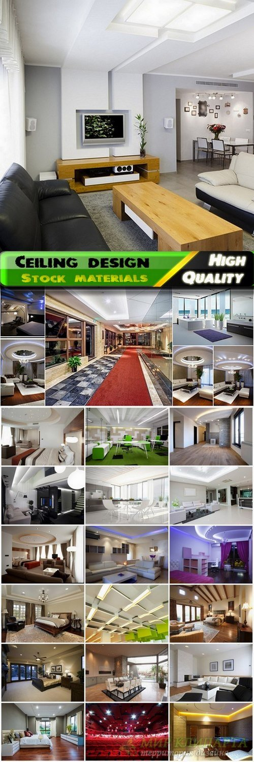 Ceiling design and home interior Stock images - 25 HQ Jpg