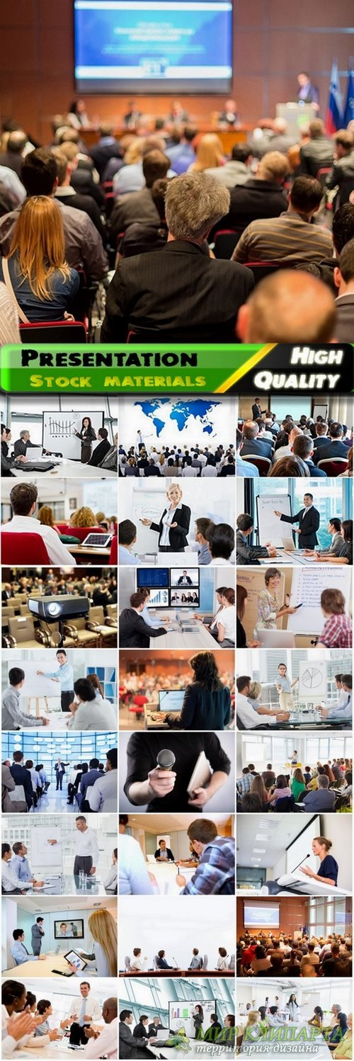 Presentation and business meeting Stock images - 25 HQ Jpg