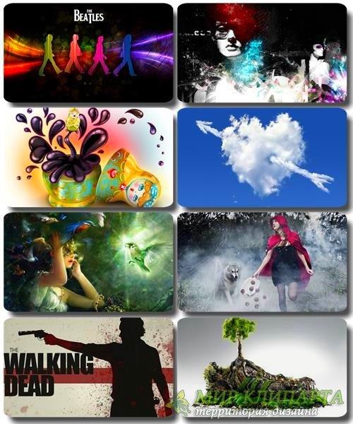 Сборник креативных обоев - Art картинки (часть 27)