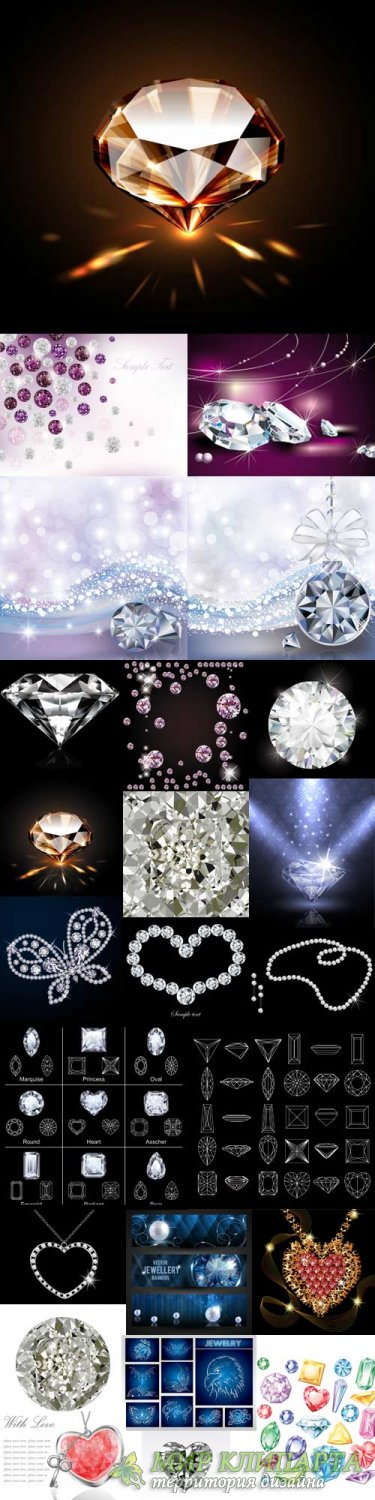 Stunning Illustrations diamonds