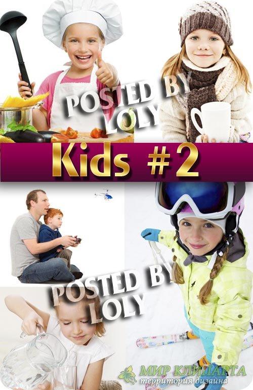 Дети и родители #2 - Растровый клипарт