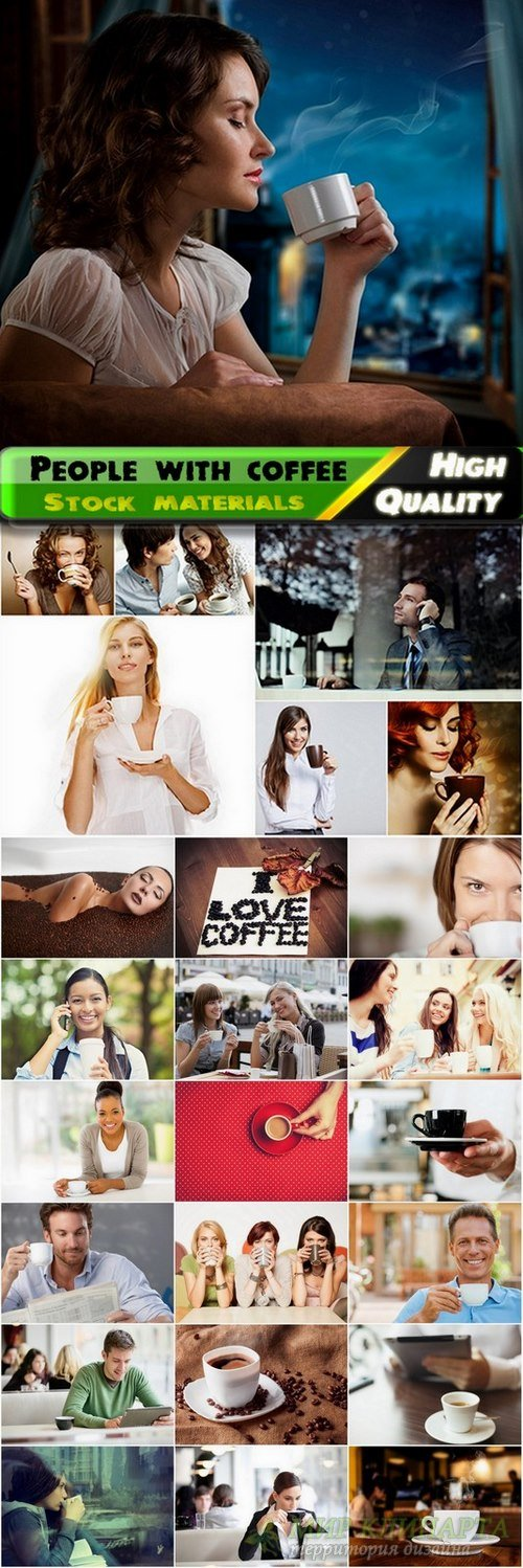 People with delicious coffee Stock images - 25 HQ Jpg