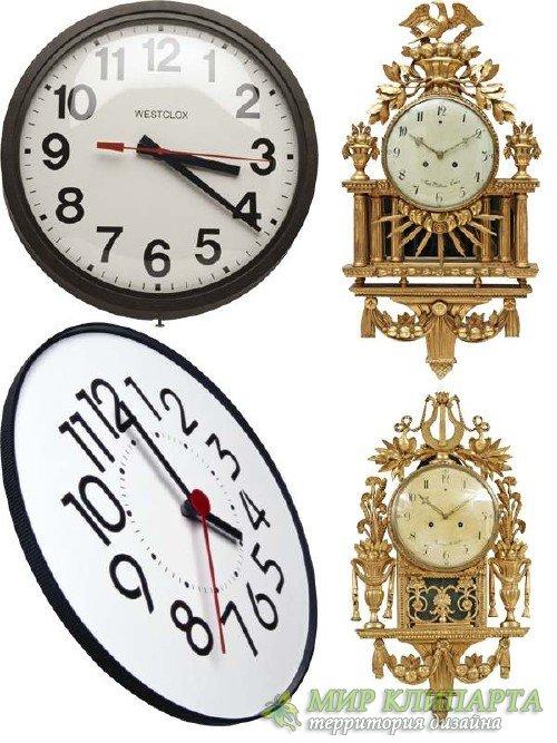 Часы настенные (подборка клипарта) часть вторая