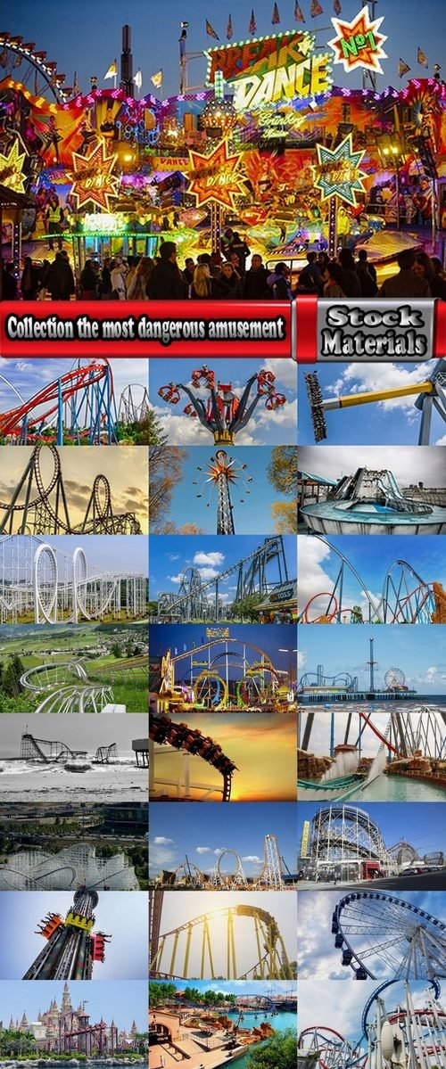 Collection the most dangerous amusement 25 UHQ Jpeg