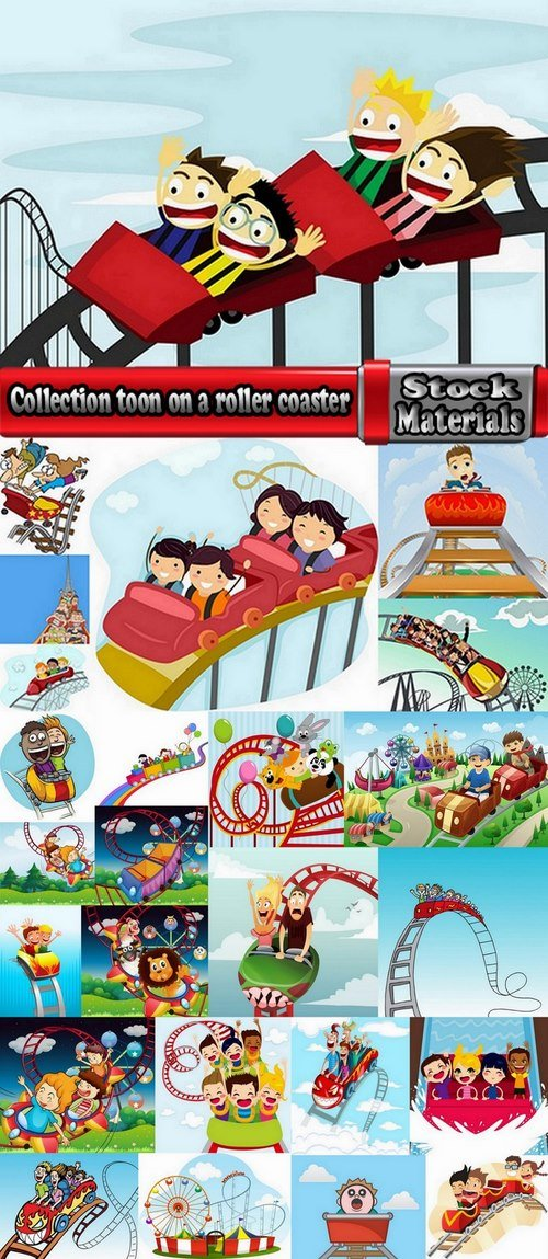 Collection toon on a roller coaster 25 Eps