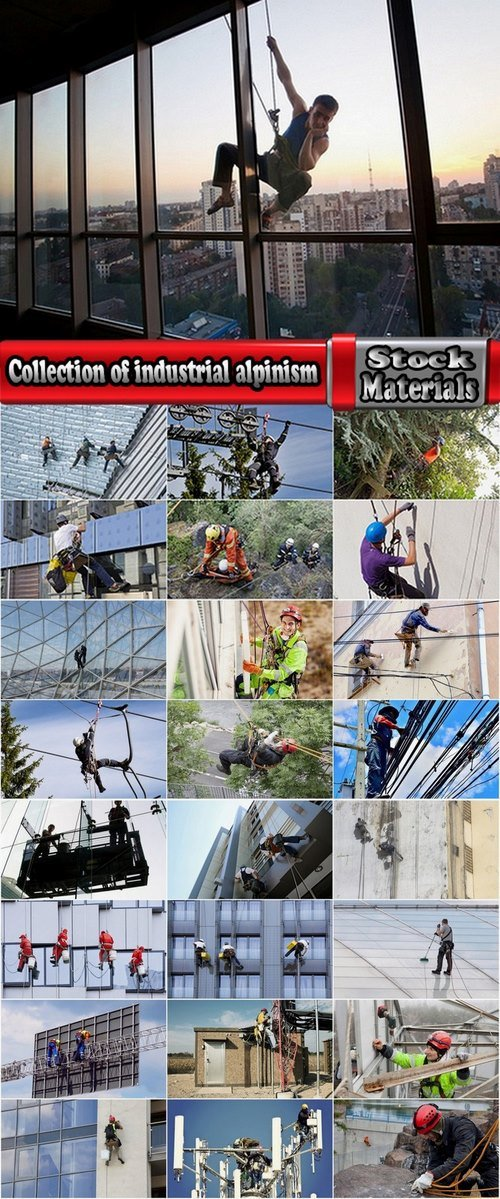 Collection of industrial alpinism 25 UHQ Jpeg
