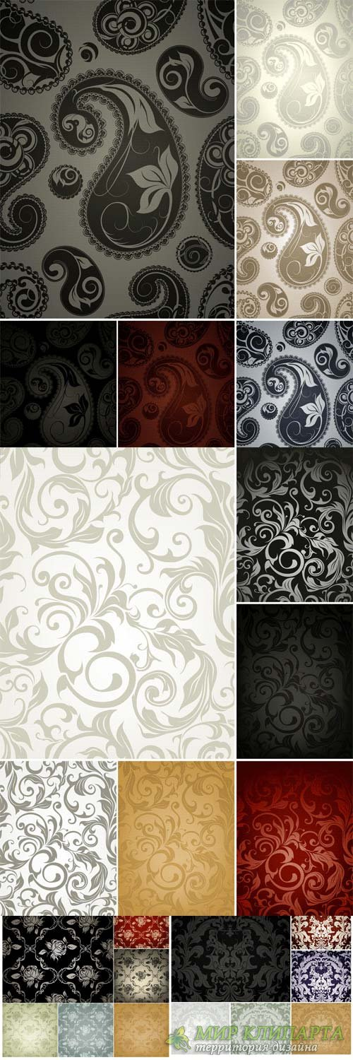 Fine pattern backgrounds