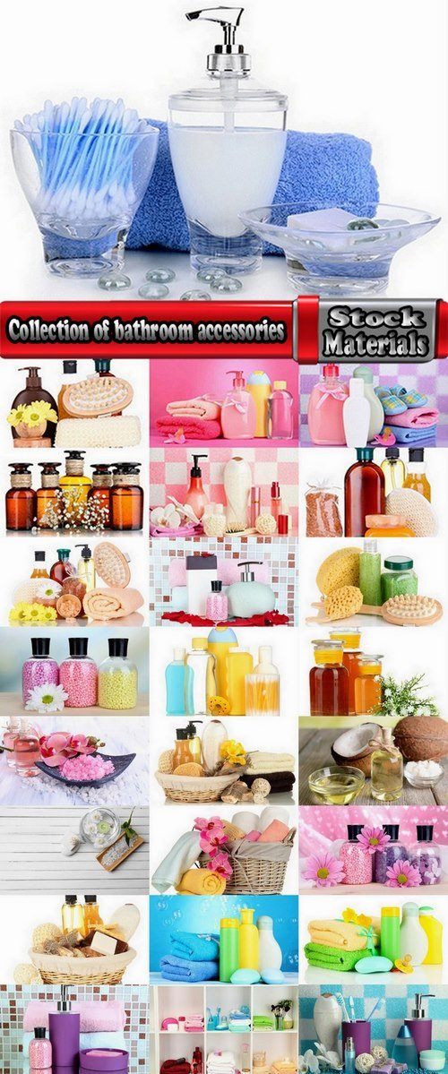 Collection of bathroom accessories 25 UHQ Jpeg