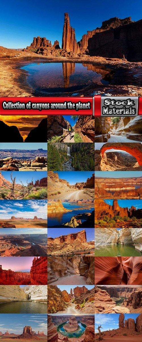 Collection of canyons around the planet 25 UHQ Jpeg
