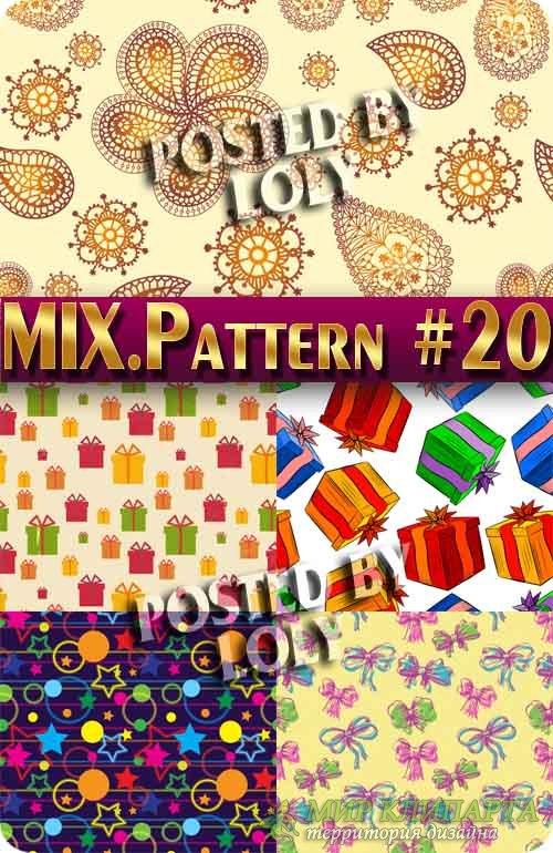 MIX паттерны #20 - Векторный клипарт