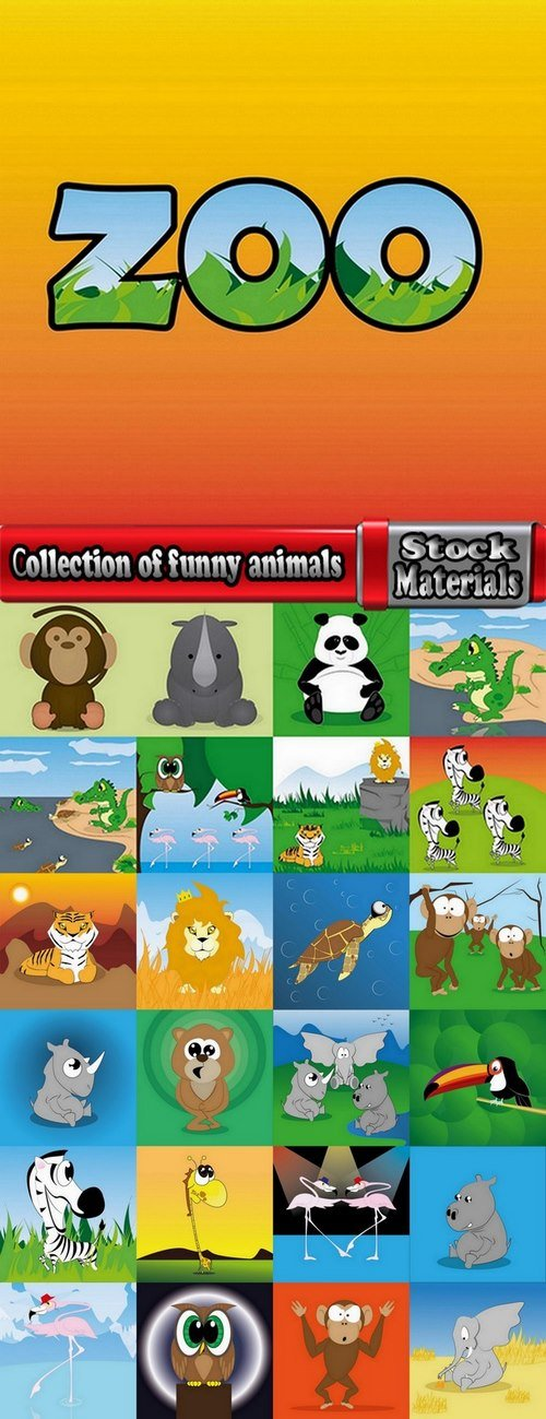 Сollection of funny animals #2-25 Eps